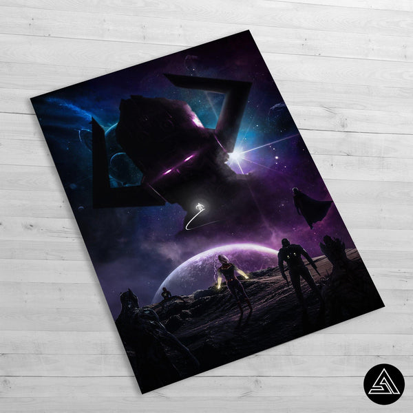 Galactus - Huge Poster - Sidekick ART