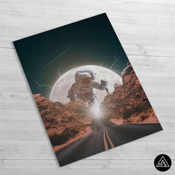 astronaut fantasy poster