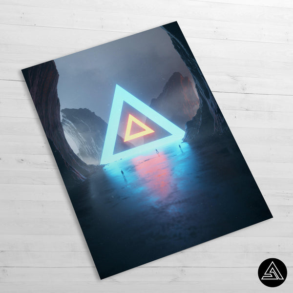 The Pyramid of Life - Huge Poster