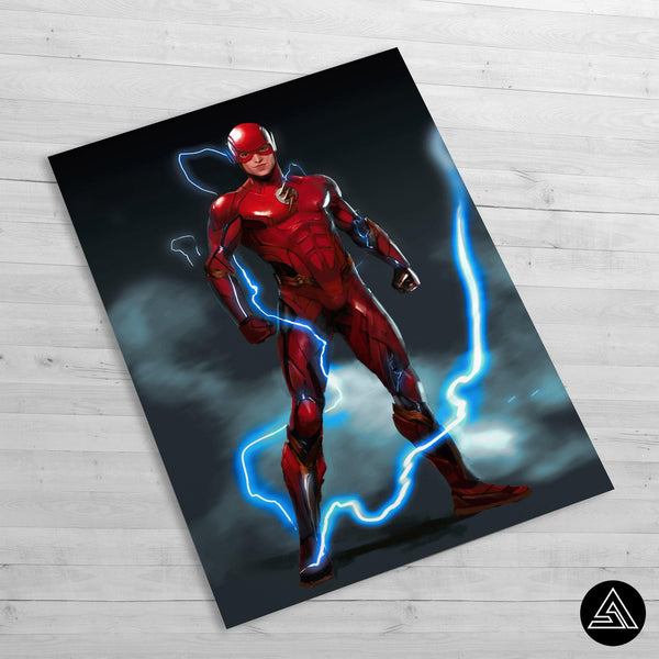 the flash concept huge poster