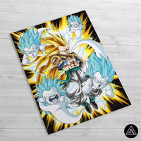 gotenks huge poster