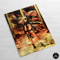 Naruto huge fan art poster