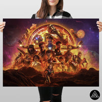 avengers endgame fan art huge poster