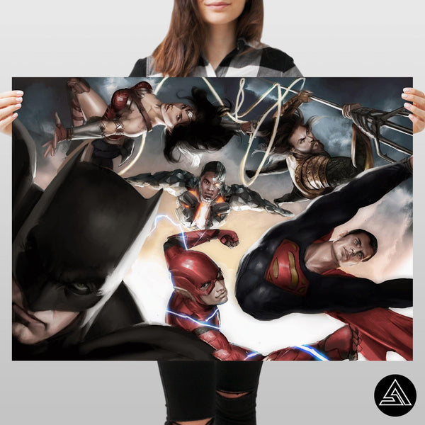 Justice League - Huge Poster