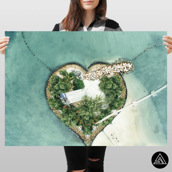 island of love art poster