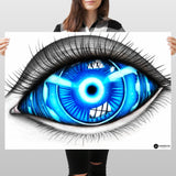 God's eye - Huge Poster