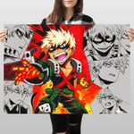 Bakugo Collage - Huge Poster - Sidekick ART