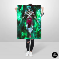 broly the legend huge poster