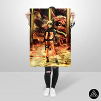 naruto artwork poster