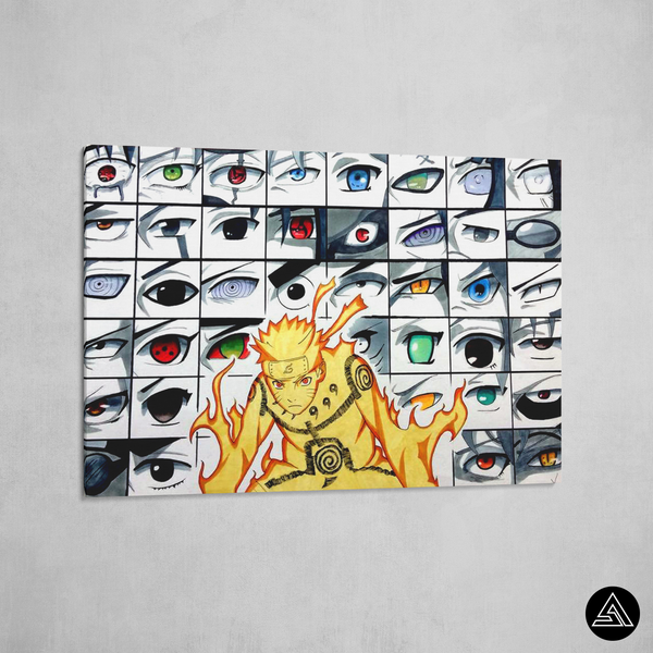 All naruto eyes canvas