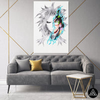 all might fan art canvas