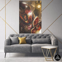 iron man portrait canvas