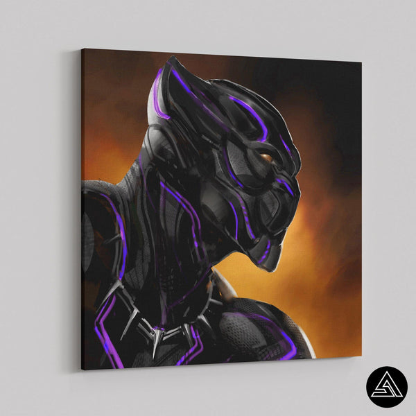 black panther fan art wal art decor