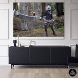 Giu Automata Cosplay 4 - Canvas
