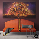 avengers team wall art