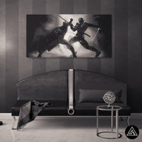 batman comics wall art decor