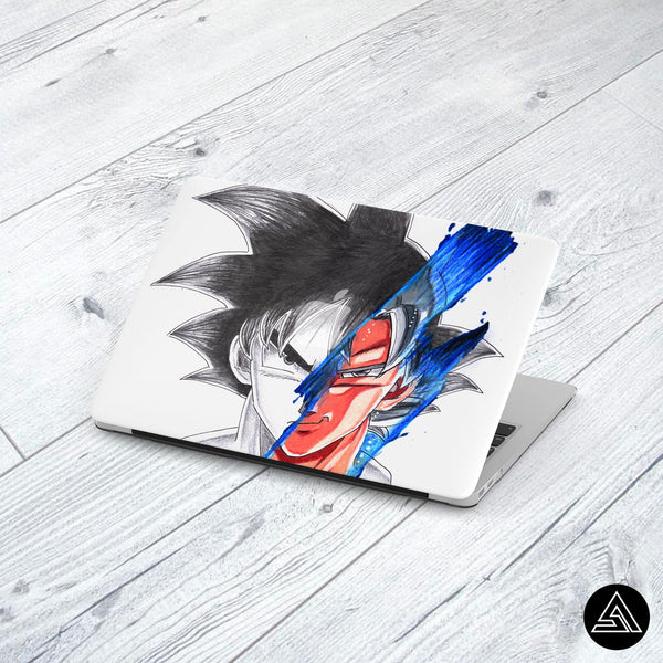 Goku Signature - Macbook Case
