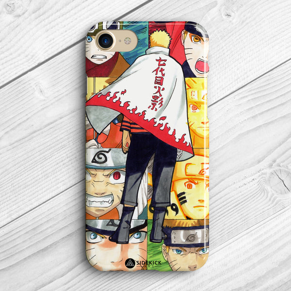 hokage collage phone case