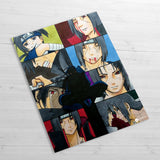 Itachi & Sasuke Collage - Huge Poster