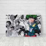 Izuku Midoriya fan art - Canvas