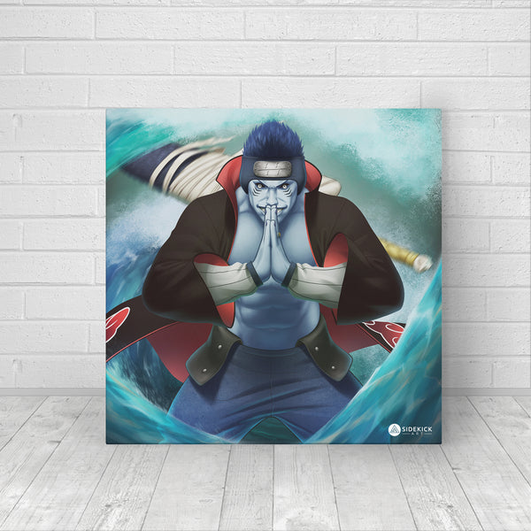 Kisame fan art canvas