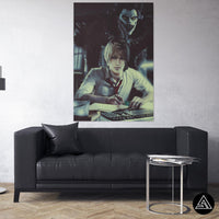 death note wall art