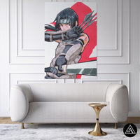 Itachi Uchiha Signature - Canvas