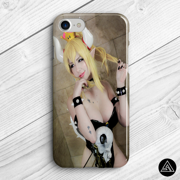 giu phone case cosplay bowsette
