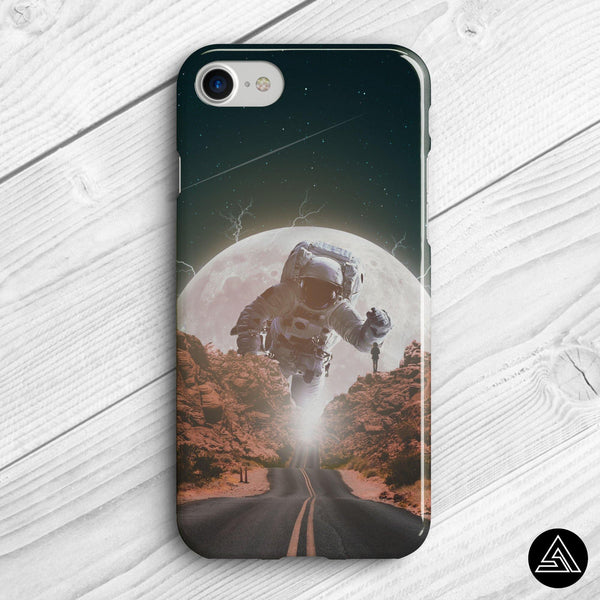 astronaut space phone case