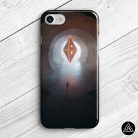 spiritual pyramid phone case