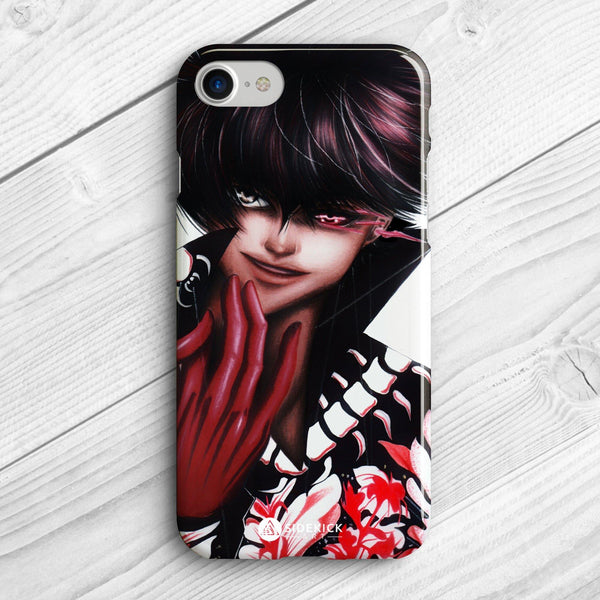 Black Kaneki - Phone Case - Sidekick ART