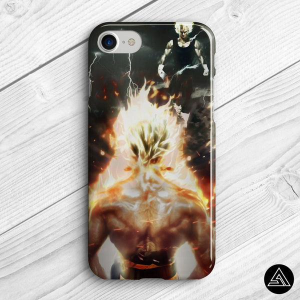 goku vs vegeta case iphone