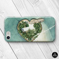 travel phone case island view