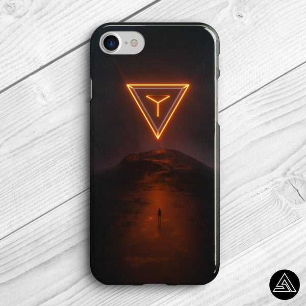 space pyramid phone case