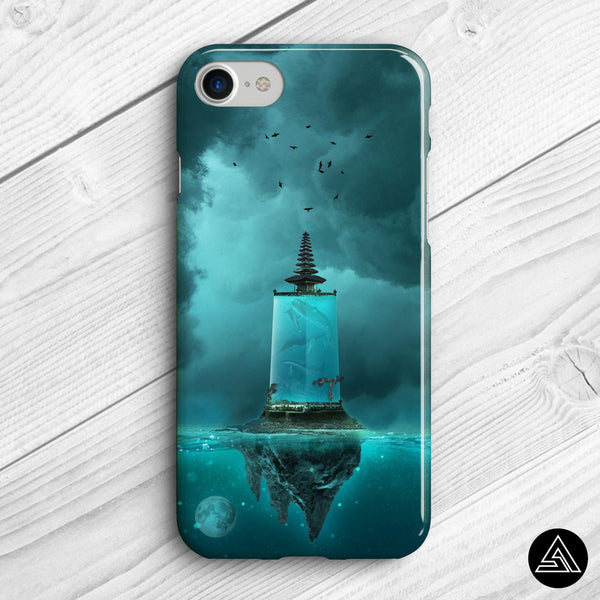 dream island bali phone case