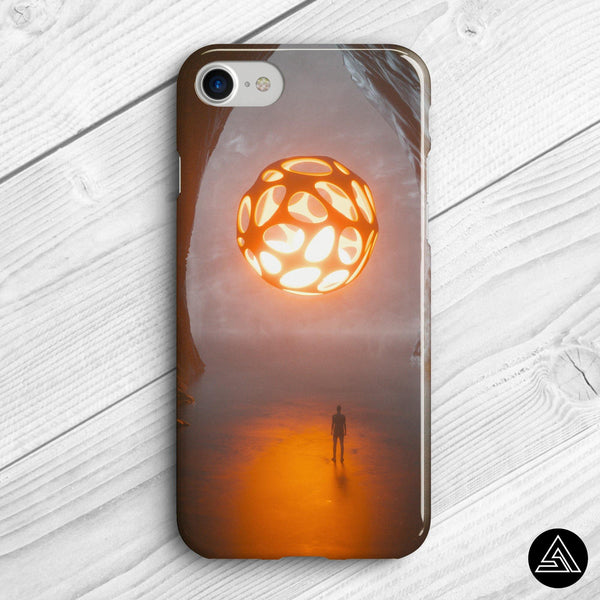 spiritual phone case holy light