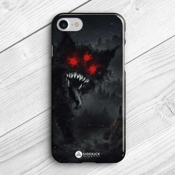 Nightmare Cat - Phone Case