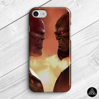 thanos vs darkseid comics phone cover