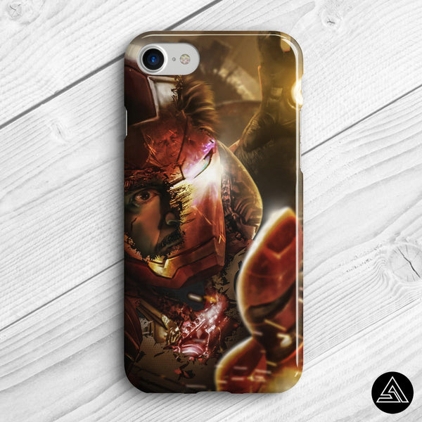 iron man fan art phone case