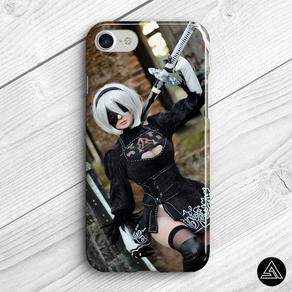 Giu Automata Cosplay 2 - Phone Case - Sidekick ART