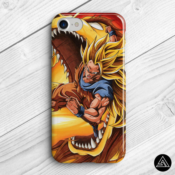 dbz dragon fist phone case