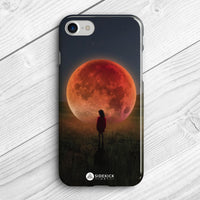 red moon phone case