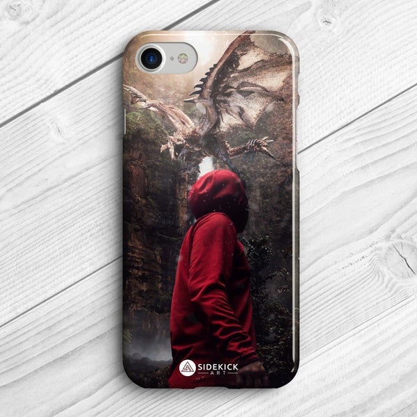 Dragon vs. Mistery - Phone Case