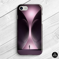 psychedelic spheres phone case