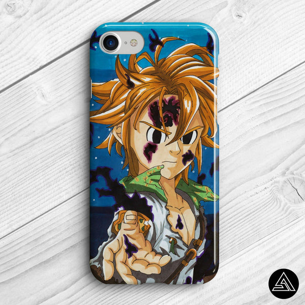 meliodas artwork phone case