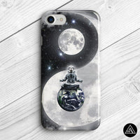Yin & Yang in Space - Phone Case