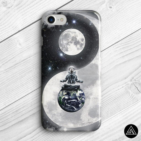 Yin & Yang in Space - Phone Case - Sidekick ART