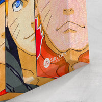 Naruto Evolution Collage - Canvas