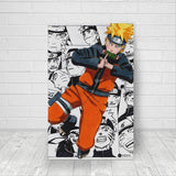 Naruto Collage - Canvas
