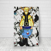 Naruto vs sasuke canvas